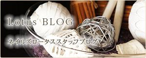 Lotus BLOG ネイルズロータススタッフブログ